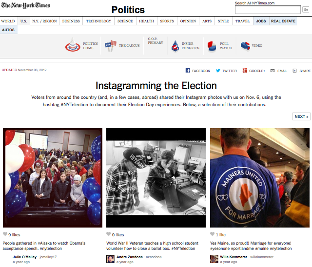 Instagramming_Election