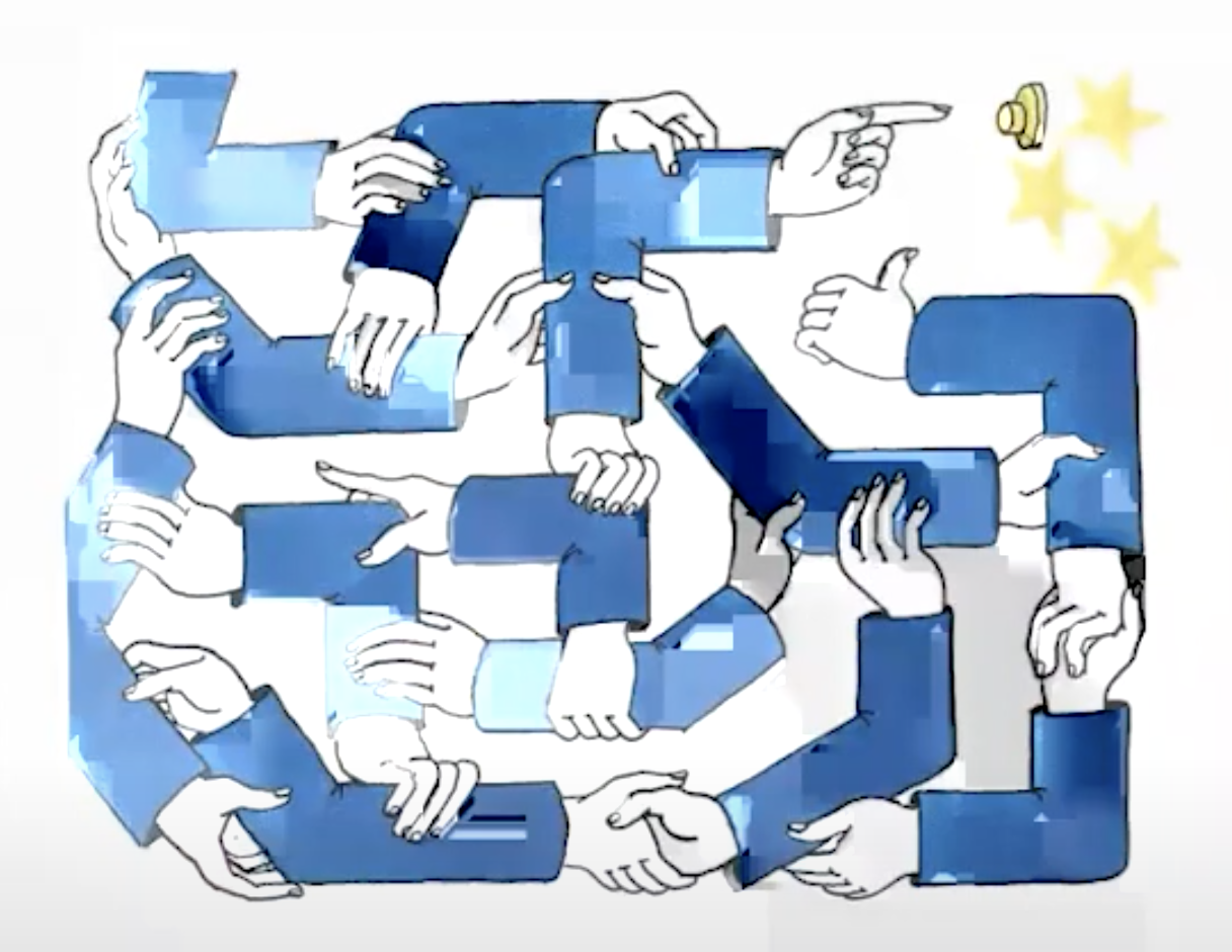 dessin_Tomi_Ungerer_labyrinthe_complexite_democratique_UE